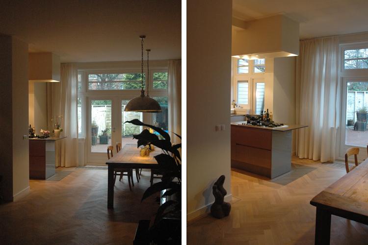 Afscheiding keuken en woonkamer for - Eetkamer en woonkamer ...