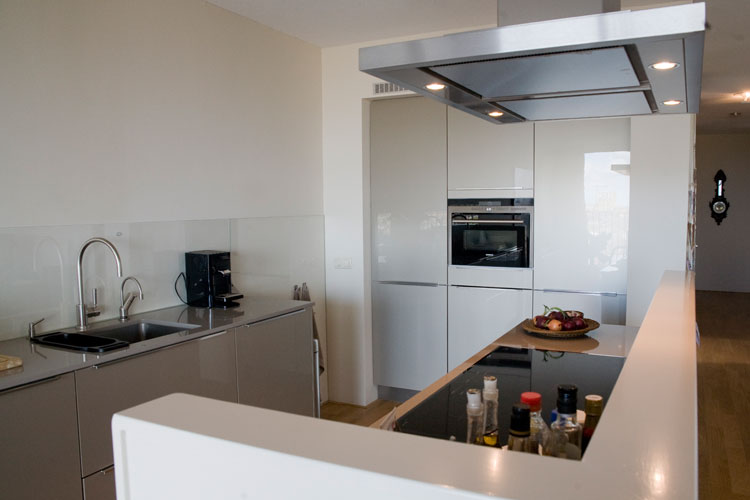 Nieuwbouwappartement kop van oost groningen denkruim - Open keuken ...