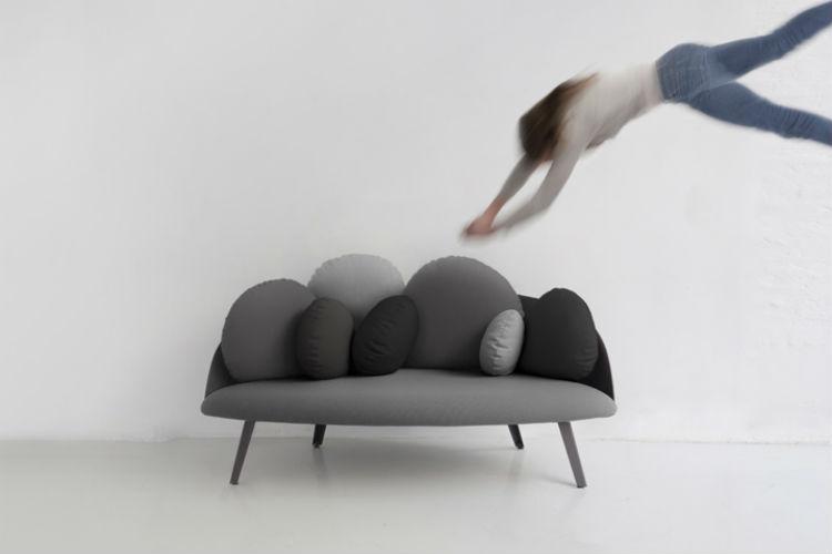 Sofa Nubilio van  ontwerper Constance Guisset voor Petite Friture